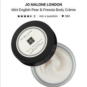 Jo Malone Mini Body Creme English Pear & Freesia
